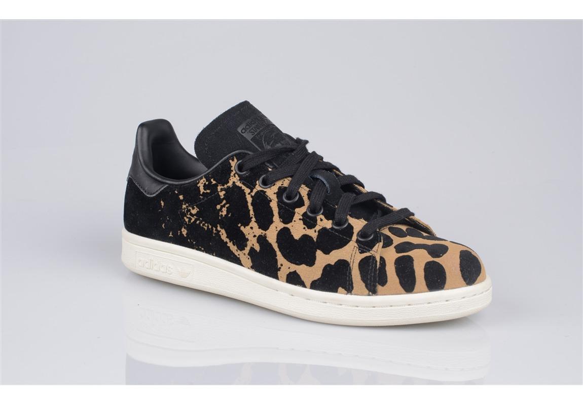 2b7e08a4af7 Réduction authentique adidas stan smith leopard Baskets ...